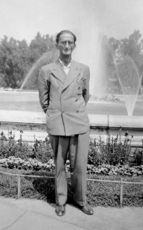 Julio Baghy, Budapest 1950