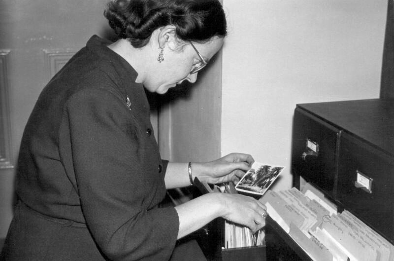 Marjorie Boulton, um 1955