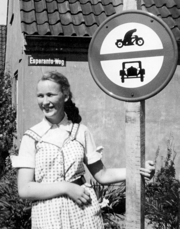 Esperanto-Weg, Hamburg Glinde 1955