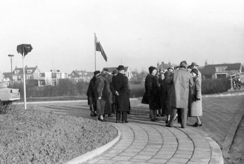 Einweihung der Zamenhof-Allee, Dordrecht 1962