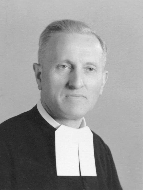 "Eduard Steers (""Bruder Alexius""), um 1960"