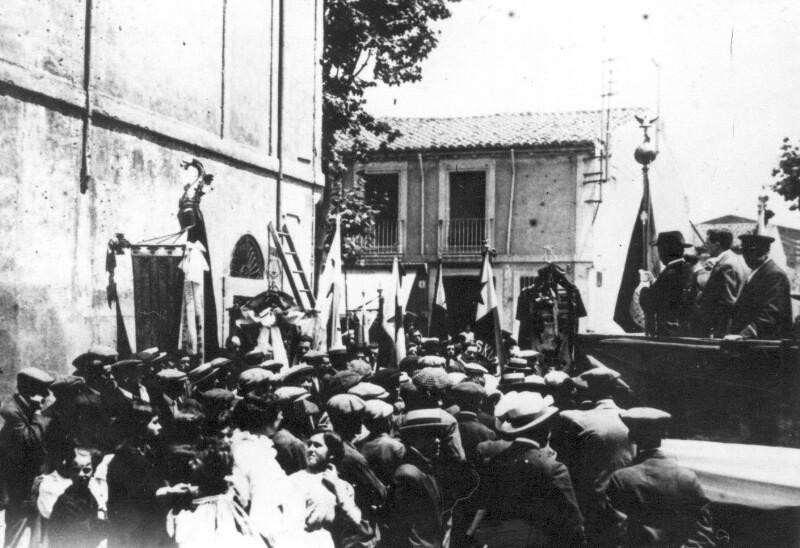 Einweihung der Calle Dr. Zamenhof, Sabadell 1912