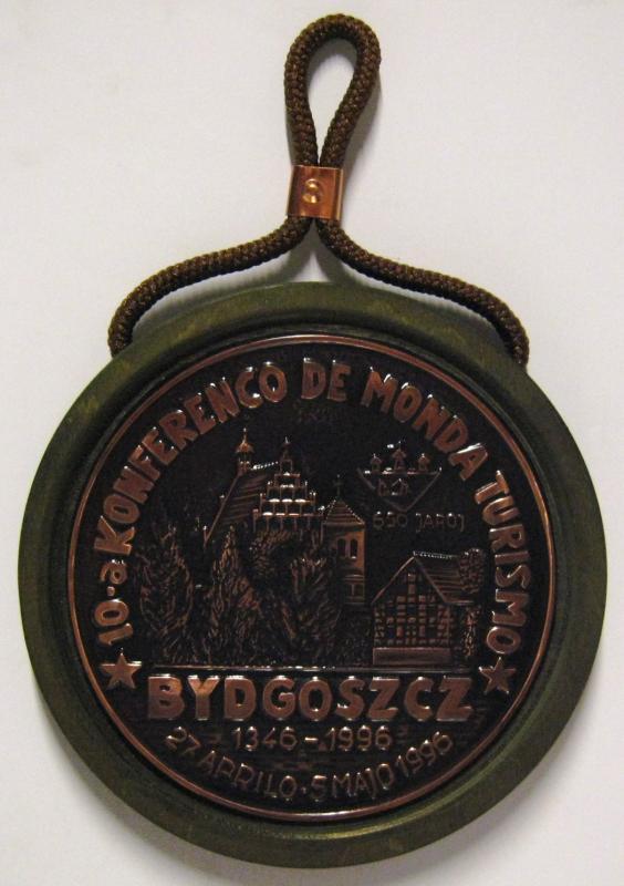 Relief: 10-a Konferenco de Monda Turismo, Bydgoszcz 1996