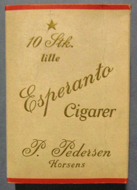 Zigarrenschachtel: 10 Stk. lille Esperanto Cigarer, Horsens