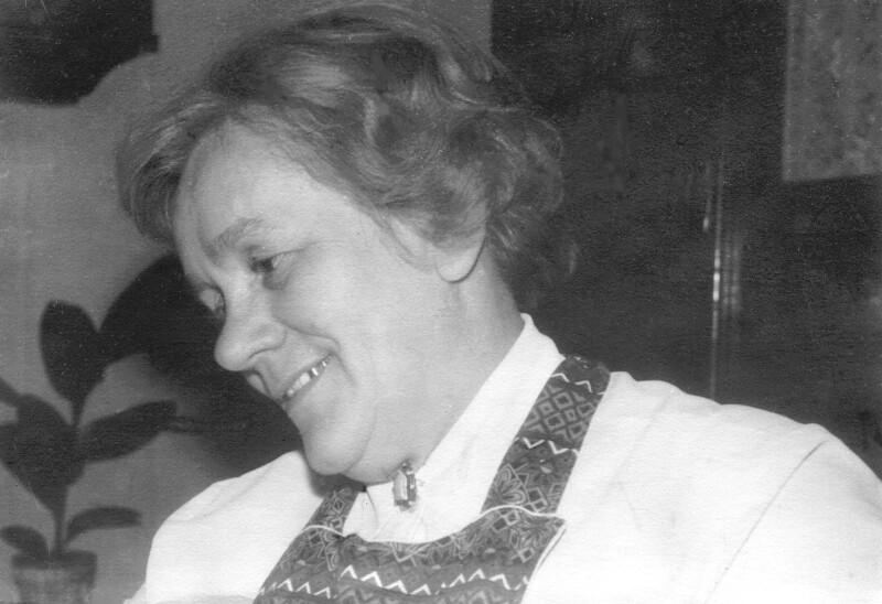 Friedel Schreier, um 1960