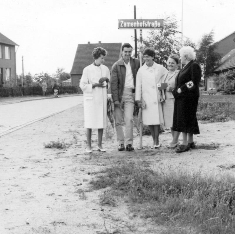 Zamenhofstraße, Nordhorn 1962