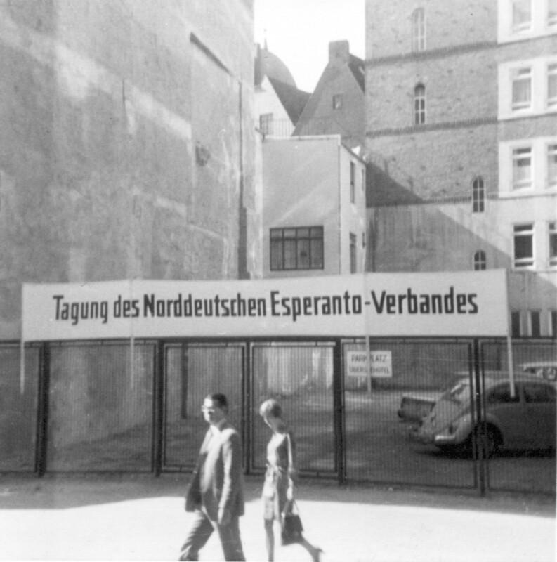 Tagung des Norddeutschen Esperanto-Verbandes, Bremen um 1970