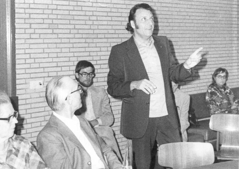 """Giuseppe Grattapaglia spricht über """"Bona Espero"""", Hamburg 1975"""