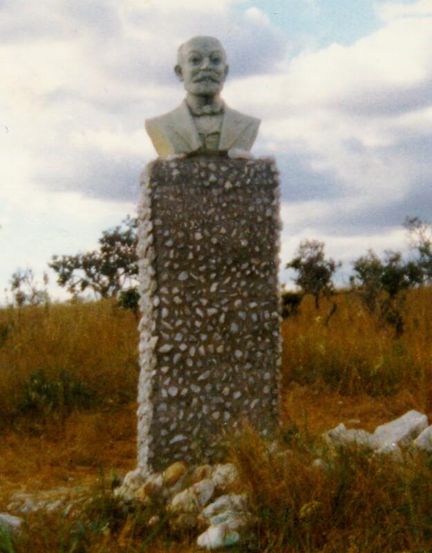 Zamenhof-Denkmal, Alto Paraiso 1980
