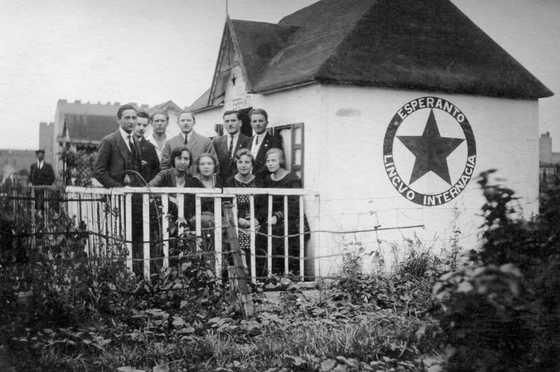 """""""Villa Esperanto"""" in einem Schrebergarten, Wien um 1925"""