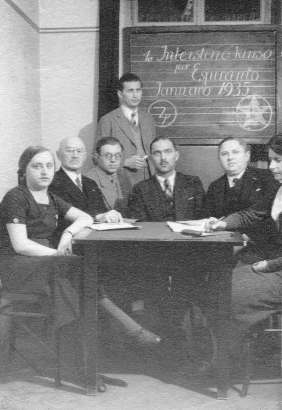 1. Esperanto-Intersteno-Kurs, Wien 1935