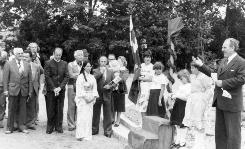 Einweihung der Zamenhof-Straße, Pfaffenhofen a.d. Ilm 1980
