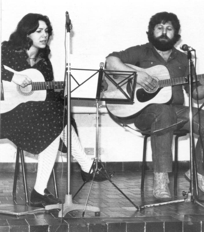 Marcella Fasani und Gianfranco Molle, Italien 1979