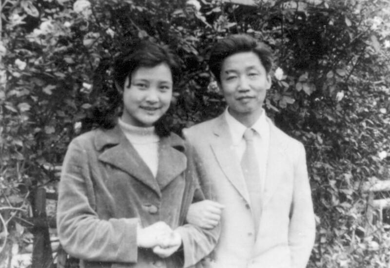 Armand Su mit der Schauspielerin Chen Chun, Shanghai 1980