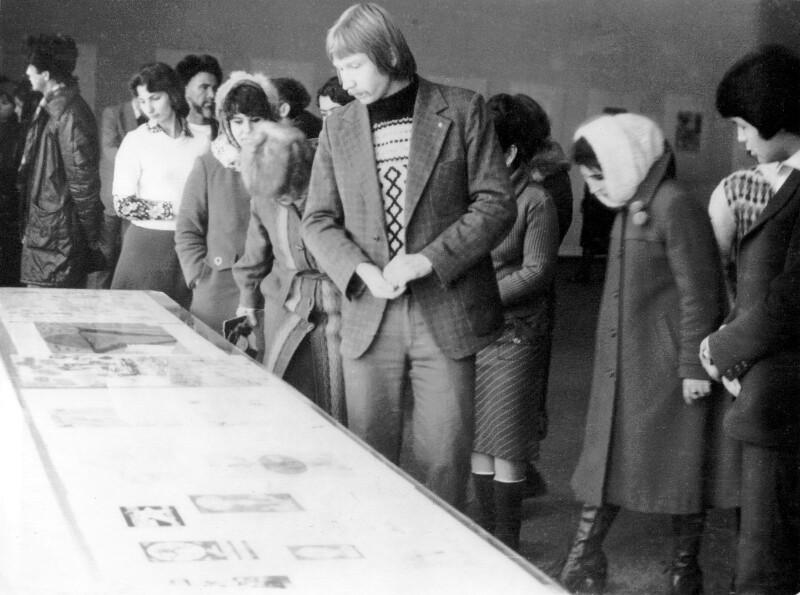 Esperanto-Ausstellung, Samarkand um 1980