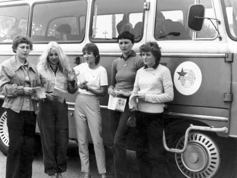 "Autobus des Vereins ""Esperanto"", Bydgoszcz 1982"
