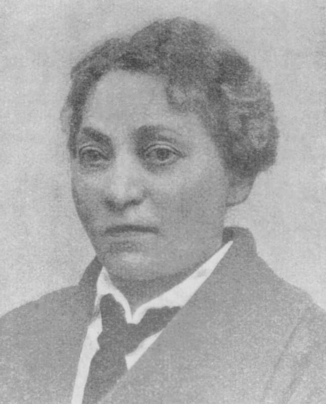 Fania Pikover, geb. Zamenhof, um 1900
