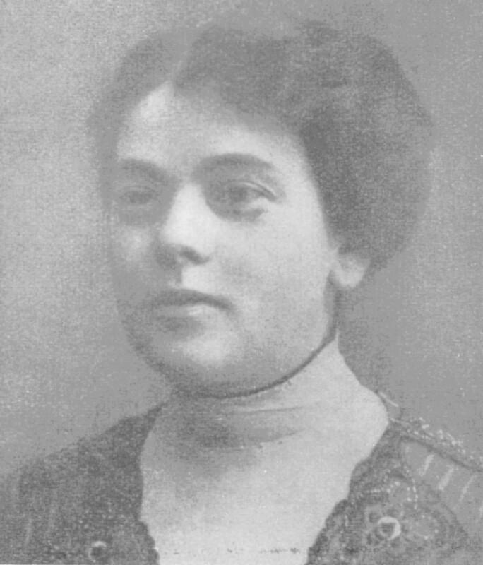 Ida Zimmermann, geb. Zamenhof, um 1905