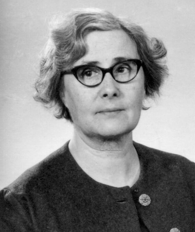 Elna Justina Turner, Ljungsbro um 1955