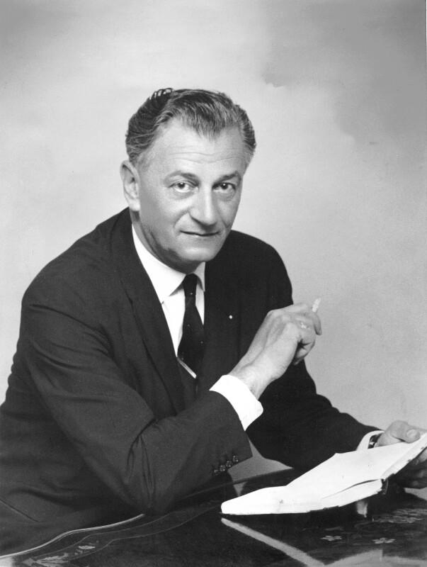 Ivo Lapenna, um 1960