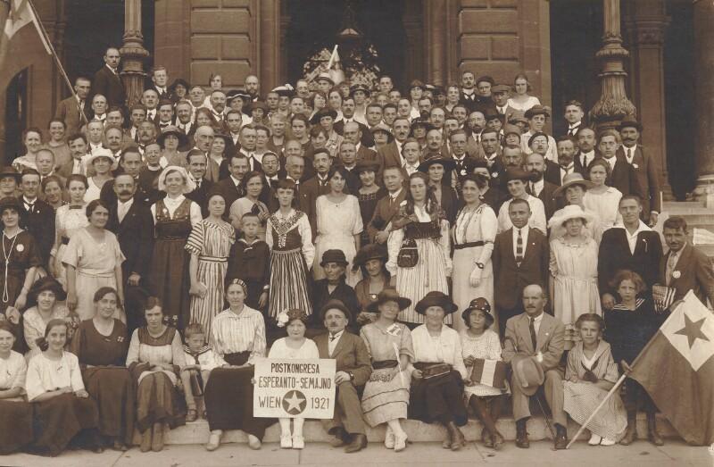 Esperanto-Nachkongress, Wien 1921