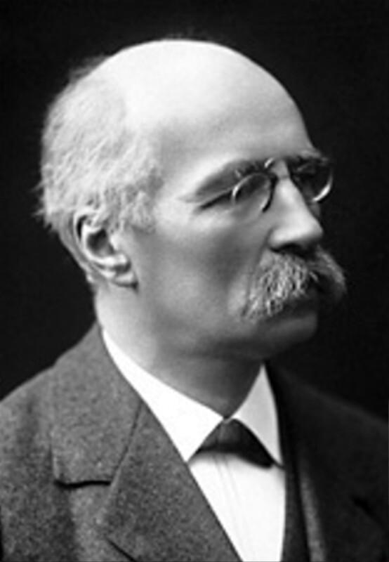 Henri La Fontaine, um 1913