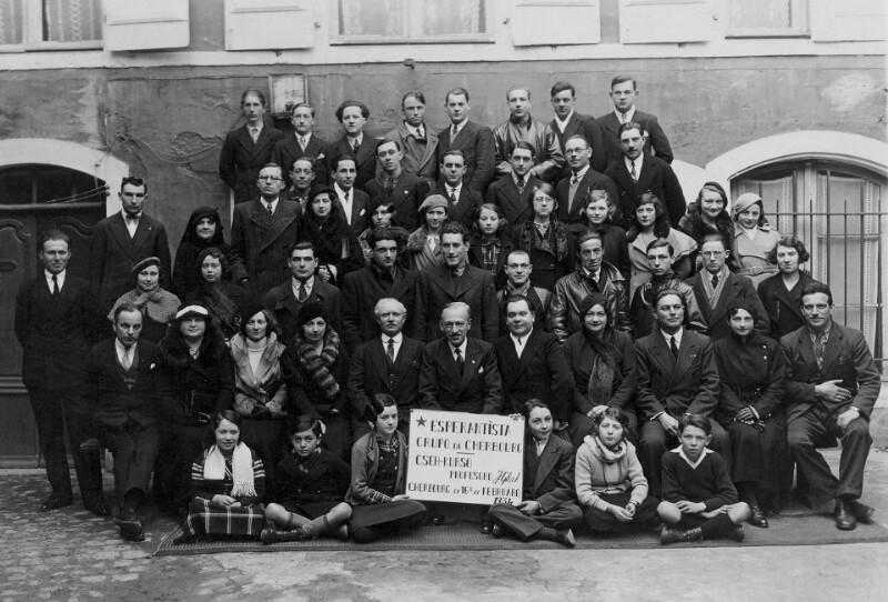 Esperanto-Kurs, Cherbourg 1934