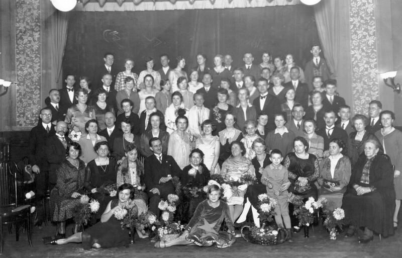 Feier zum 90. Geburtstag von Anna Tuschinski, Danzig 1930