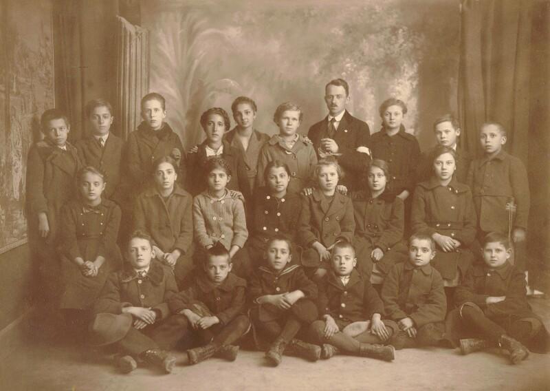 """Aktion """"Kinder nach Spanien"""", Graz 1920"""