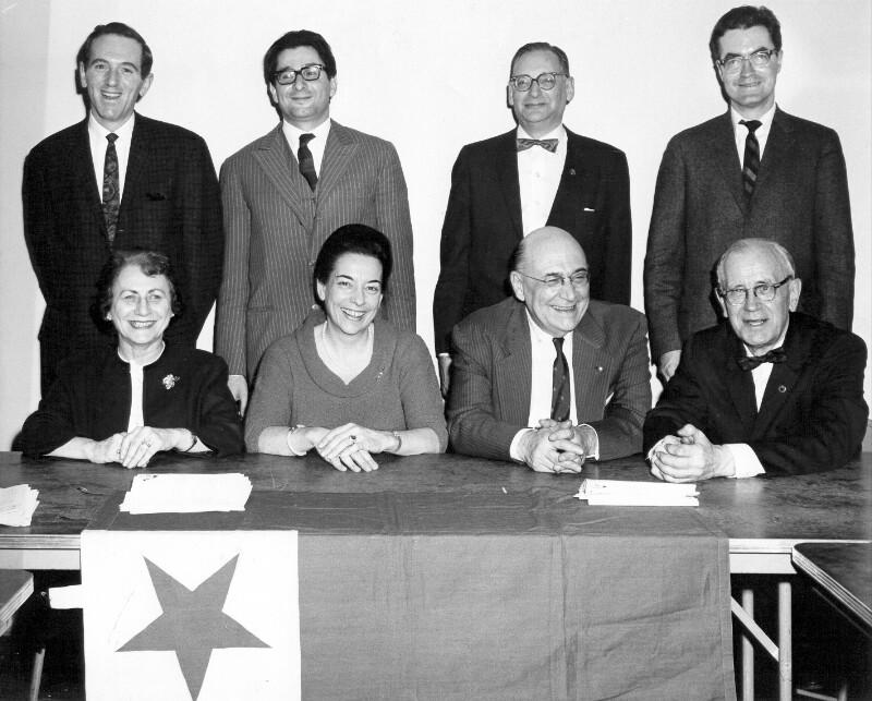 Exekutiv-Komitee des Esperanto Information Center, New York 1966