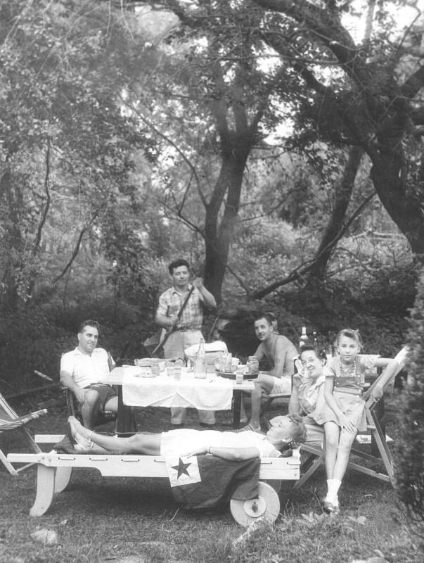Esperanto-Picknick, New York um 1950