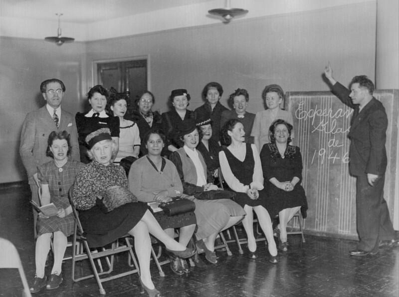 Esperanto-Kurs, New York 1946