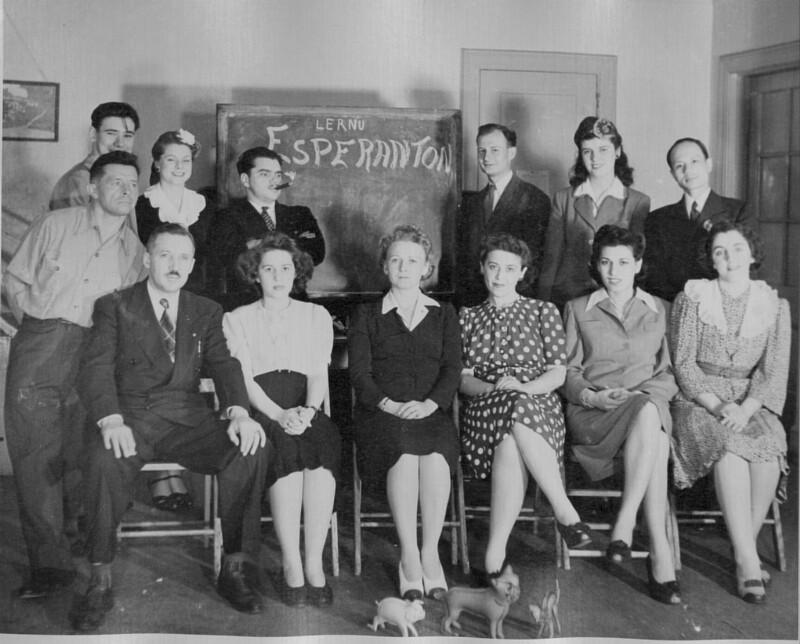 Esperanto-Kurs, New York um 1945