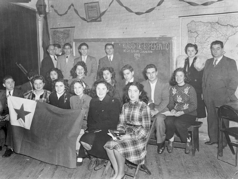 Esperanto-Kurs, New York 1948