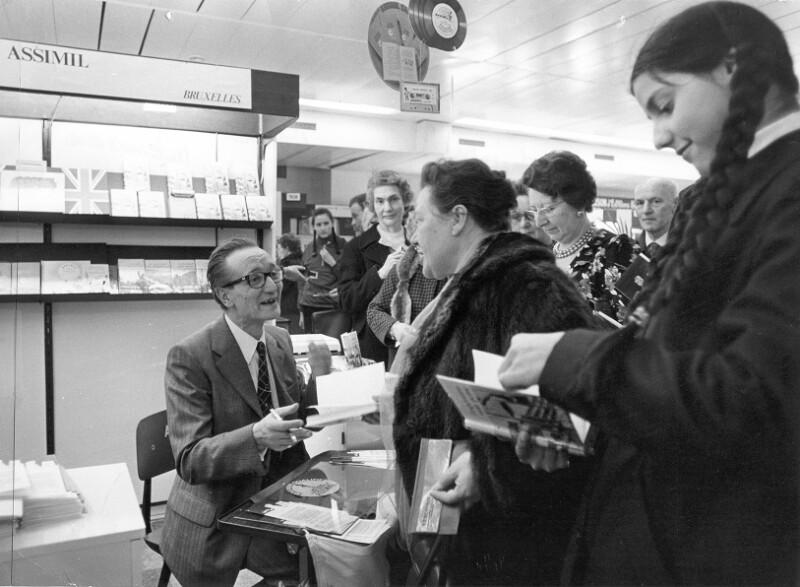 Internationale Buchmesse, Brüssel 1974