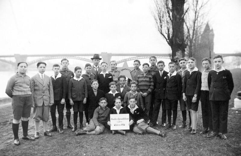 Esperanto-Schüler, Worms 1930