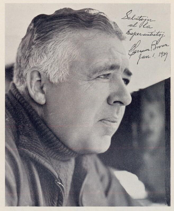 Warner Brown, vor 1939