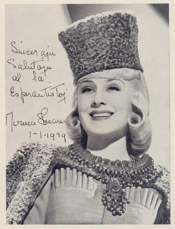 Norma Shearer, vor 1939