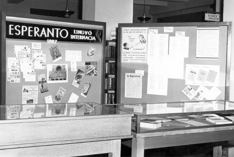 Esperanto-Ausstellung, Honolulu 1955