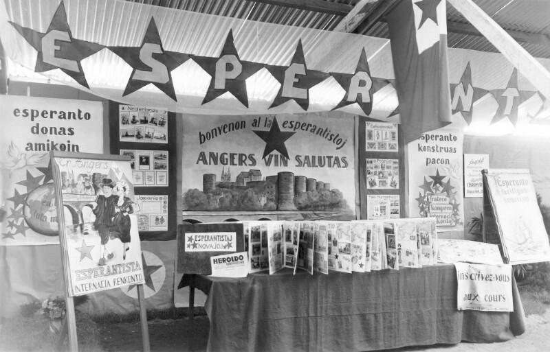 Esperanto-Ausstellung, Angers 1950