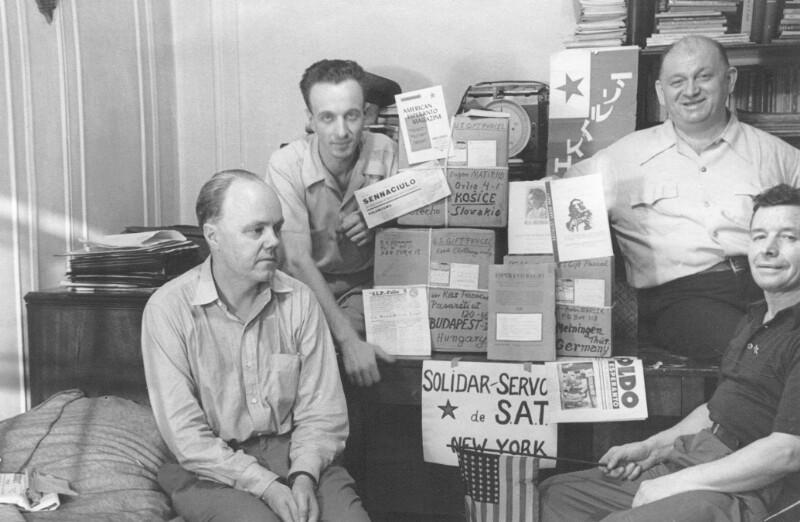 Der SAT-Solidar-Servo, New York um 1950