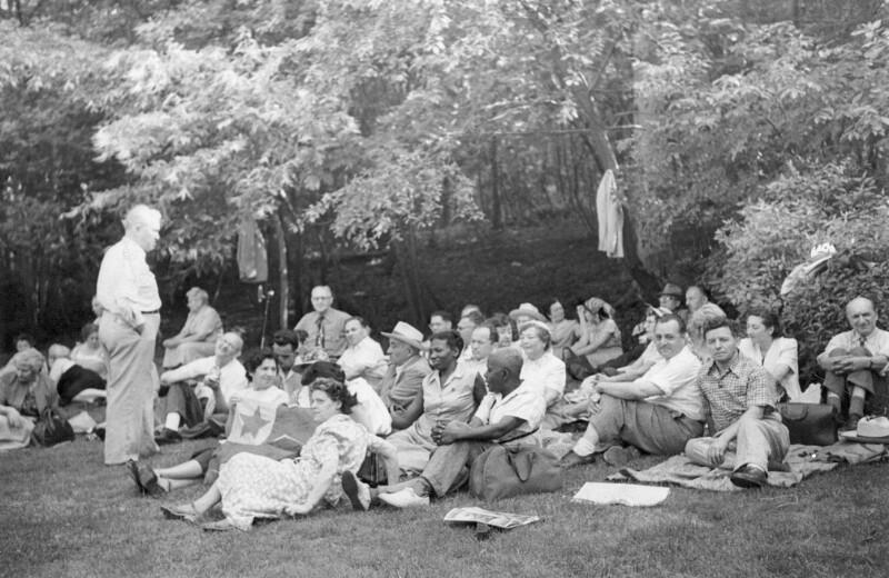 Esperanto-Picknick, New York 1950