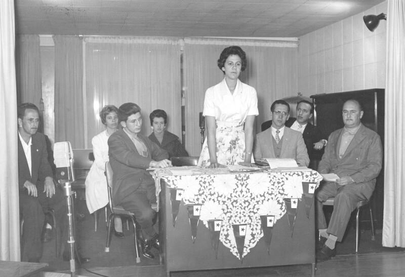 Gründung der Esperanto-Jugend von Uberlândia, 1960