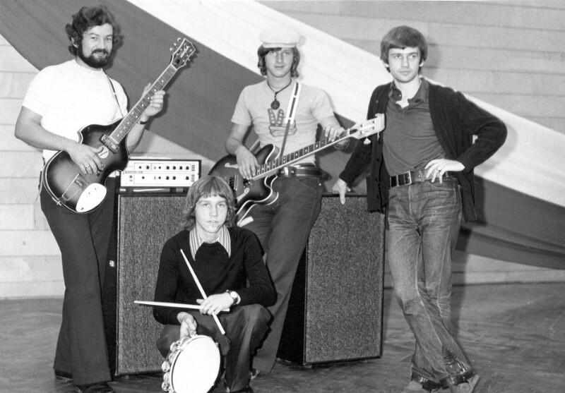 """Esperanto-Musikgruppe """"La Fratoj"""", Katowice 1975"""