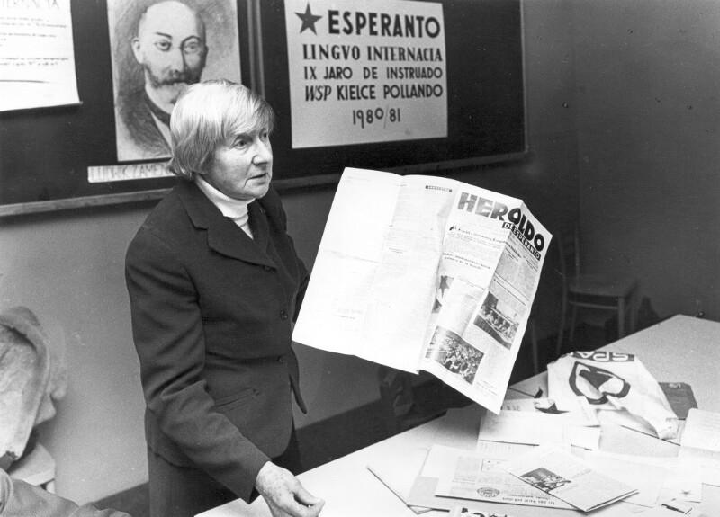 Esperanto-Kurs, Kielce 1980