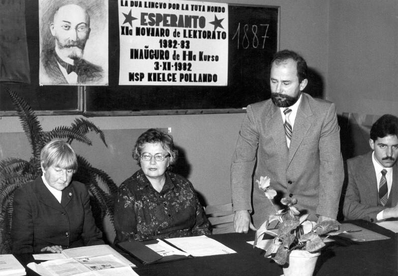 11. Jahr des Esperanto-Lektorats, Kielce 1982