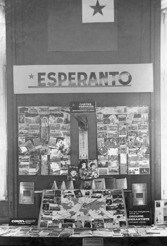 Esperanto-Ausstellung, Reims um 1930