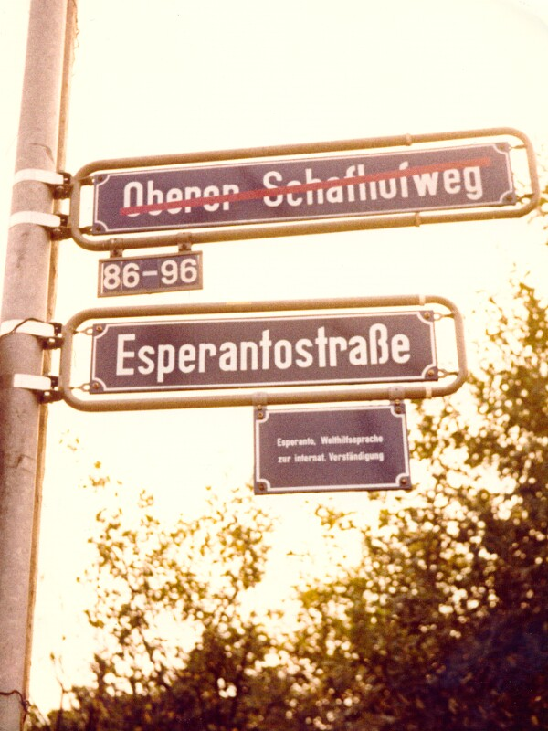 Esperantostraße, Frankfurt am Main 1976