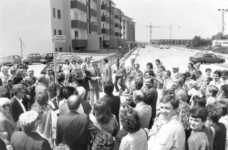 "Einweihung der ""Via Lazaro Ludovico Zamenhof""; Ticino 1um 1986"