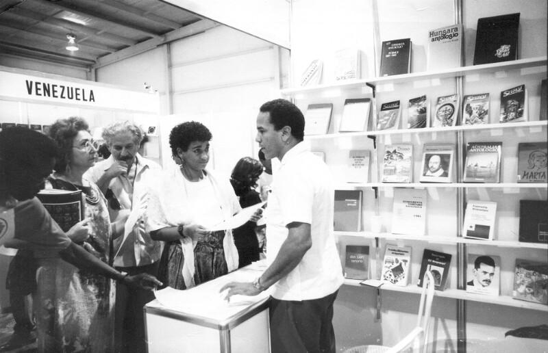 Internationale Buchmesse, Havanna 1990